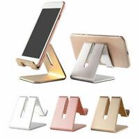 Universal Aluminum Phone Desk Table Desktop Stand Holder For Tablet Cell Phone