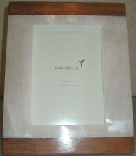 NEW PAPYRUS 5X7 WOOD & ALABASTER TABLETOP PICTURE FRAME #786011
