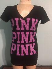 Victorias Secret Pink V Neck Shirt XS