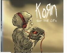 CD KORN	got the life	MAXI CD (B1571)