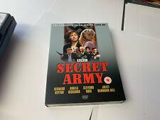 SECRET ARMY COMPLETE SERIES 3 DVD Third Season Hepton Angela UK R2 NRMINT/EX