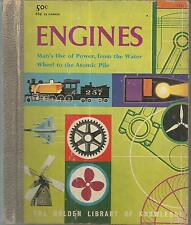 Engines (1959 Children's Book) The Golden Library of Knowledge