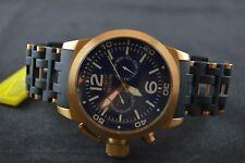 Invicta Sea Spider Men's Rose Gold toned & Black Watch 80048