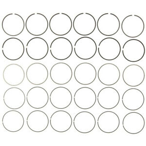 MAHLE Engine Piston Ring Set 41600CP; Moly-Faced Standard Fit