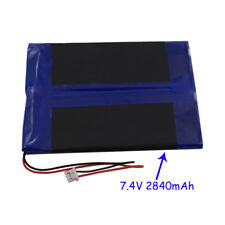 7.4 V 2840 mAh replacement Polymer Li Battery LiPo For GPS Tablet PC DVD 407080