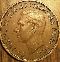 1949 UK GB GREAT BRITAIN ONE PENNY