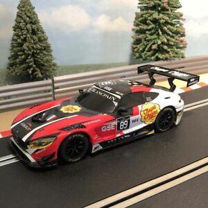 Scalextric 1:32 Car - Mercedes AMG GT3 Chupa Chups *LIGHTS* #89