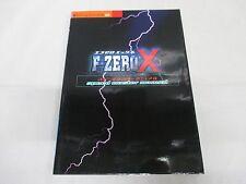 N64 -- F Zero X Speed Master Manual -- JAPAN Game Book. 31091