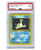 Pokemon Lapras Fossil Holo PSA 9 MINT wotc no base set no charizard no mtg