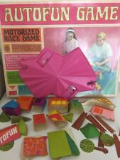 Vintage 1967 Amf Autofun Game Motorized Race Game Parts