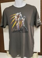 Planetside 2-Intel-Multiplayer Online First-Person Shooter T Shirt-XL