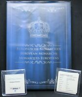 2013 | European Monarchs Set Of Medals | Silver-Plated | Medals | KM Coins
