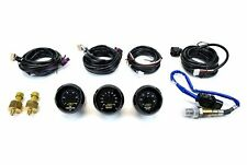 Aem 3 Gauges Combo 52mm Kit Uego WideBand A/F Ratio + Oil Pressure + Turbo Boost
