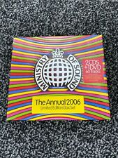 Ministry of Sound The Annual 2006 (2CD + DVD) Limited Edition Box Set