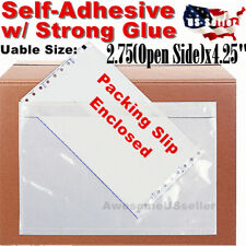 20 Packing List Envelopes 275x425 Invoice Bags Self Adhesive Shipping Slip Us