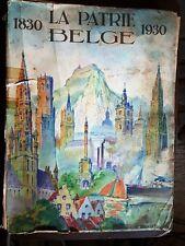 Encyclopédie 1830 la patrie belge 1930