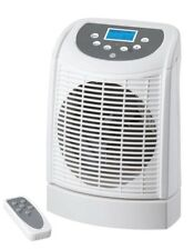 Electric Fan Heater Hot Cool Portable Oscillating Base with Remote Control 2.2kW