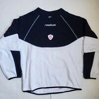 Reebok Carlsberg Liverpool F.C. Fleece Pullover Sweatshirt Men's XL Rare Vintage