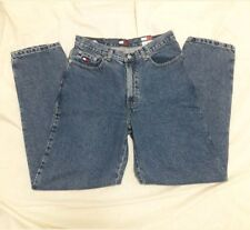 Tommy Hilfiger Womens Jeans Denim Blue High Waist Mama Sz 20 Waist 30 Vtg 90s
