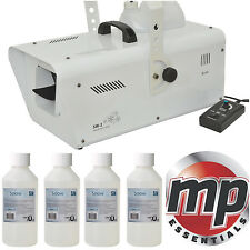 QTX 1200W Christmas Party Artificial Flake Effect Snow Machine + Remote & Fluid