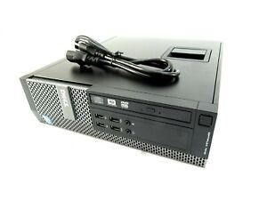 Dell Optiplex 7010 SFF Intel Core i7-3770 @ 3.40GHz 16GB RAM 250GB HDD DVD-RW