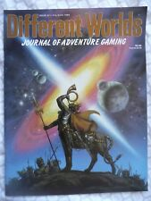 DIFFERENT WORLDS #43 (Sleuth 1986) • Dungeons & Dragons • NM/Unread/Unused!