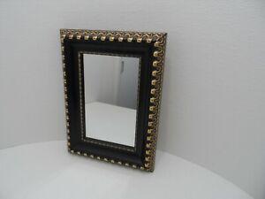 Size : 3X Montado en la pared negro espejos de vanidad recargable USB encendido LED de doble cara 360 /° giratorio extensible de 8 pulgadas de doble cara Ba/ño de maquillaje espejo de aumento