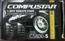 COMPUSTAR  CS800-S  1 Way Remote Start