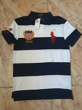Polo ralph lauren striped rugby shirt sz.s Slim fit