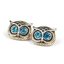 Latest Cute Big Eyes Owl Earring Fashion Exquisite Complex Punk Designer Jewelry