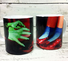 BRAND NEW THE WIZARD OF OZ DOROTHY'S RUBY SLIPPERS AND WITCH SCENE GIFT MUG
