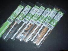 "Evergreen Styrene H Column Beam 14"" Plastic Rod Assortment 7 Sizes 32 Pieces MIP"