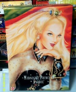 1997 Mattel Barbie Midnight Princess Limited Edition  Brand New in box