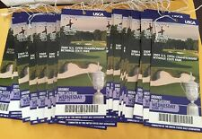 Lot Of (2)2009 U.S. Open Weds June 17 Bethpage State Park Unused Tickets