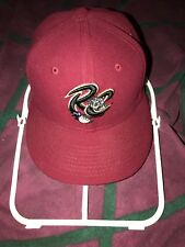 2000s MLB Sacramento River Cats Baseball New Era Team Fitted Hat Cap SZ 7
