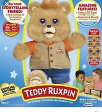 2017 Teddy Ruxpin Teddy  Official Return of the Story Time and Magical Bear