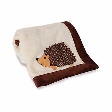 Blanket Baby Snuggly Soft Echo the Hedgehog Cream Color Cozy Warm Fleece Poly