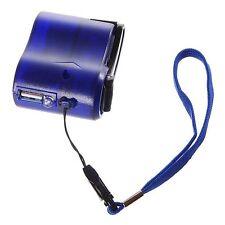 Generator USB-Ladegerät LED Dynamo Kurbel HandyLadegerät NEU Outdoor Bundeswehr