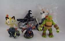 Lot Bundle Toy Hot wheels skater motorcycle TMNT Skylanders - Set of 6