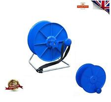 COMPLETE BLUE REEL /SPOOL STAND, LOCK AND BREAK ELECTRIC FENCE FENCING WIRE TAPE
