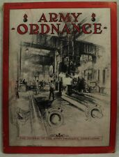 Army Ordnance July August 1931 Old vintage military Magazine