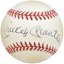 Mickey Mantle Autographed Signed AL Baseball Yankees UDA & Beckett A53817
