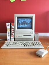 Macintosh se/30 160 mb hd 8mo ram revised & plug and play (70 apps included)
