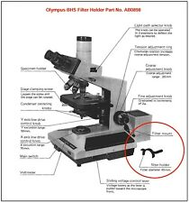 Olympus BHS Microscope Filter Holder