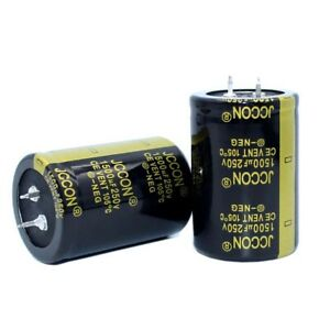 1PC 1500uF 200V Snap-in Electrolytic Radial Capacitors 105C 35x40mm