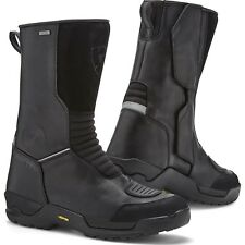 Rev It Compass H2O Motorcycle Boots Leather Motorbike WP Breathable CE All Sizes