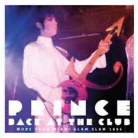 BACK AT THE CLUB by PRINCE  Vinyl Double Album / PARA217LP Rare live set