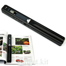 HD 900DPI Handheld Portable iScan Document Photo Book A4 Color Scanner Display