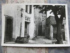 CPA photo Gréolières Un coin du village Café de village Alpes-Maritimes