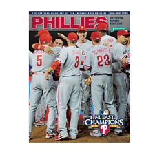 2010 NLDS PHILADELPHIA PHILLIES CINCINNATI REDS PROGRAM HALLADAY NO HITTER 10/6
